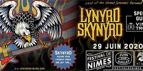 Déplacement pour le concert LYNYRD SKYNYRD tickets