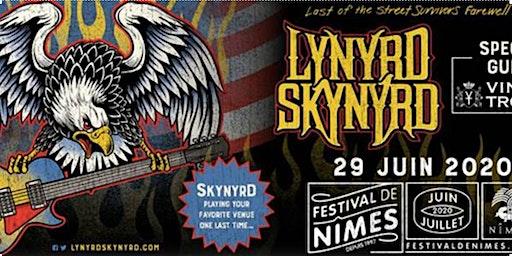 Déplacement pour le concert LYNYRD SKYNYRD