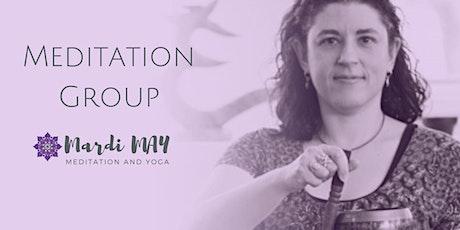 Meditation & Mindfulness Group Wednesdays 12-1pm @ Woodcroft tickets