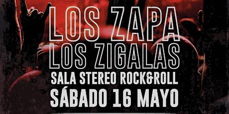 Los Zapa + Los Zigalas entradas