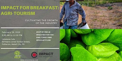Impact for Breakfast Manila: Focus on Agri-Tourism