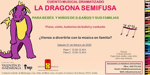 CUENTO MUSICAL DRAMATIZADO | LA DRAGONA SEMIFUSA | PASE 1