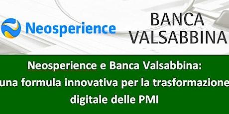 Neosperience e Banca Valsabbina: la trasformazione digitale delle PMI biglietti