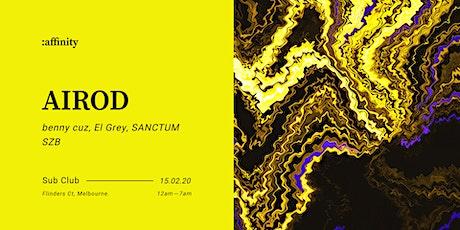 :affinity — AIROD [Molekül]   FRA (3hrs+) tickets