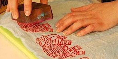 Hand block printing workshop in Frankfurt tickets