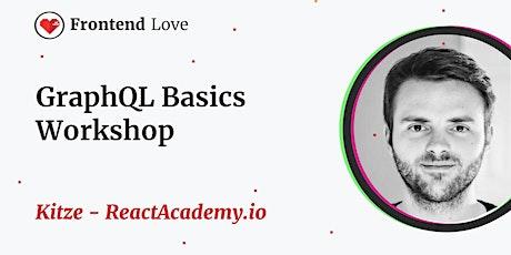 Kitze - ReactAcademy.io - GraphQL Basics Workshop tickets