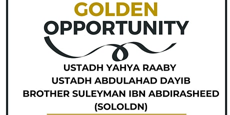 Golden  Opportunity tickets