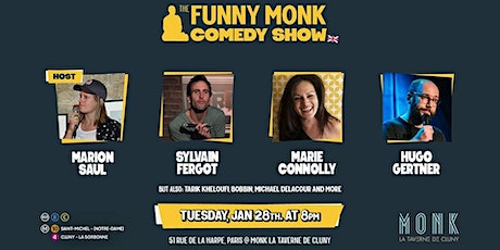 Funny Monk Comedy Show #3 billets