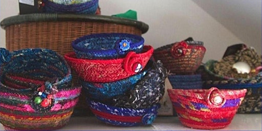 Sewing workshop - Coiled Fabric Bowls