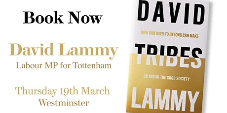 Prospect Book Club - David Lammy  tickets