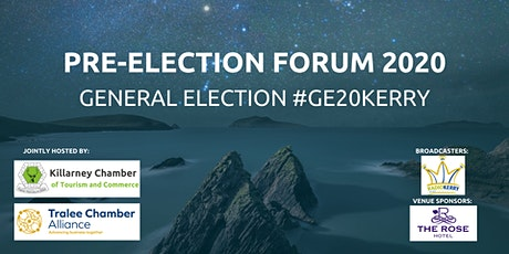 GE20KERRY - ELECTION FORUM tickets