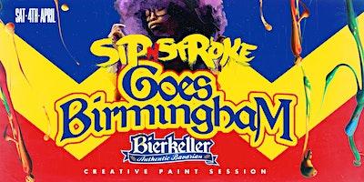 Sip 'N Stroke Paint Party | Goes Birmingham