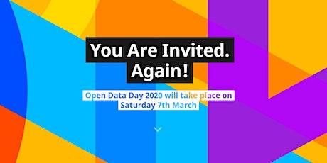 International Open Data Day 2020 tickets