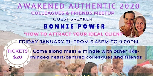 JANUARY Meetup for Awakened Authentic Entrepreneurs with Bonnie Power