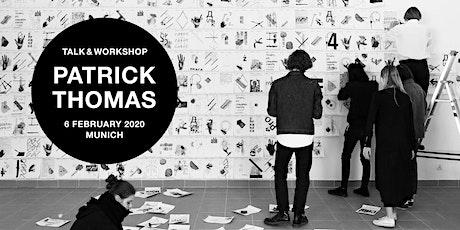 MATES x TOCA ME Creator's Lab: PATRICK THOMAS Talk & Workshop Tickets