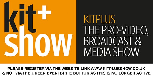KITPLUS - PLEASE REGISTER ON THE WEBSITE NOT THE EVENTBRITE BUTTON BELOW