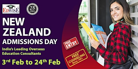 New Zealand Admissions Day in Mumbai tickets