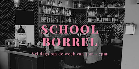 Schoolborrel tickets