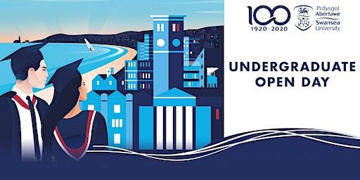 Undergraduate Open Day Saturday 4th April 2020