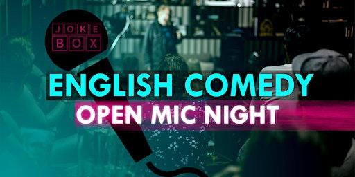English Comedy | Open Mic Night