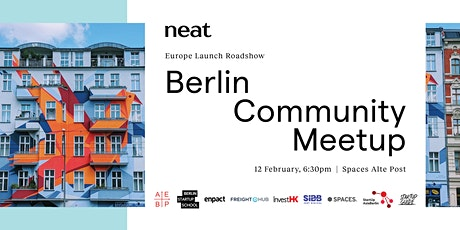 Neat Europe Launch Roadshow — Berlin Community Meetup tickets