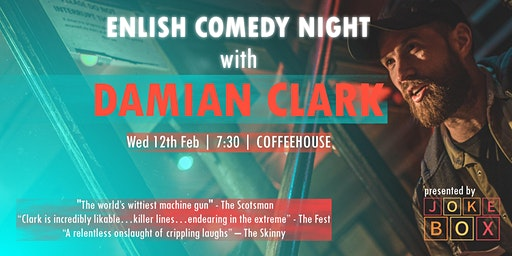 English Stand Up Comedy With Damian Clark