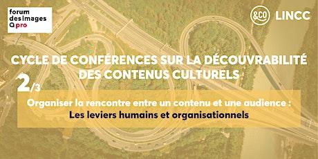 Organiser la rencontre entre un contenu et une audience : les leviers humains et organisationnels billets