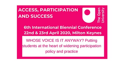 !POSTPONED! APS 6th International Biennial Conference: Whose voice is it. ? tickets