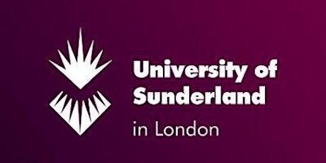 University of Sunderland in London Online Open Day tickets