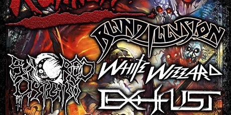 RHP Presents: Ruthless, Blind Illusion, and White Wizzard tickets