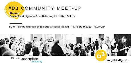 #5  D3 - Community Meet-Up Tickets