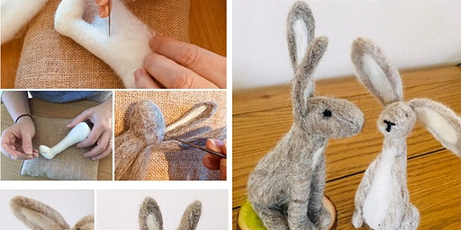 Needle Felting Workshop: March Hare
