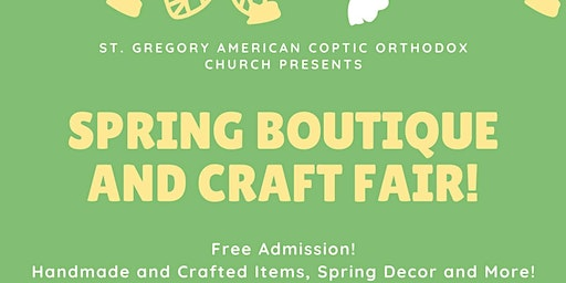 Anaheim Spring Boutique and Craft Fair (Free Admission!)