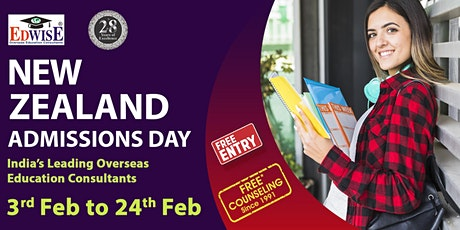 New Zealand Admissions Day in Bangalore tickets