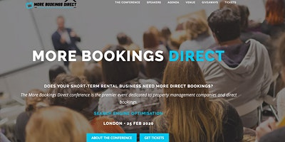 The More Bookings Direct Conference