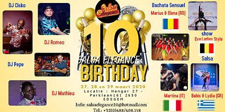 SALSA ELEGANCE special 10th years anniversary tickets