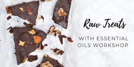 Raw treats with essential oils workshop tickets