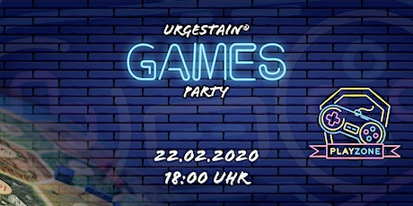 Urgestain Games Party Februar Tickets