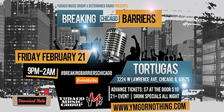 Breaking Barriers Chicago tickets