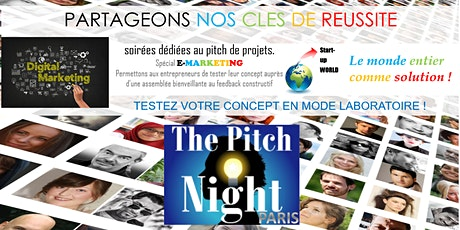 "Pitch Night Paris spécial "" 3D, VR, AR "" billets"