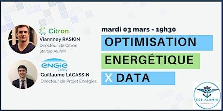 Conférence : Energie X Data billets