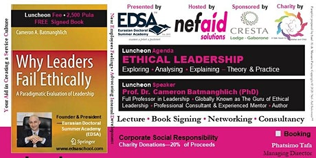 Ethical Leadership Luncheon tickets