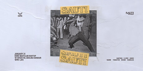 Sauti Systems Night 12 tickets
