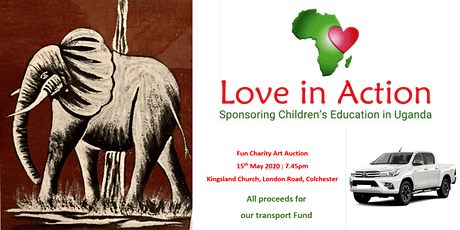 Love in Action, Art Auction tickets