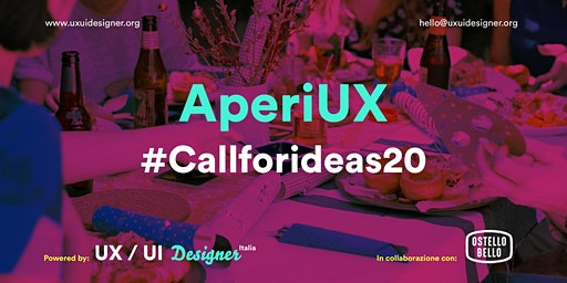 AperiUX - #callforideas20