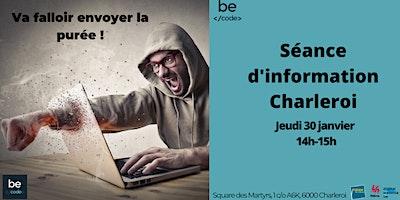 Séance d'information Charleroi