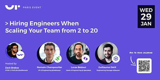 Hiring Engineers When Scaling Your Team from 2 to 20