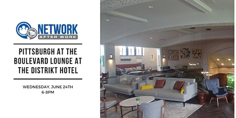 Network After Work Pittsburgh at The Boulevard Lounge at the Distrikt Hotel tickets