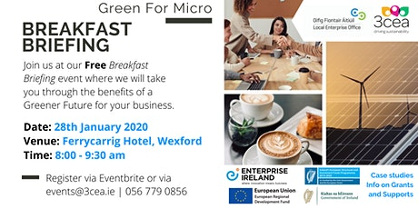 Green for Micro Free Breakfast Briefing - Wexford tickets