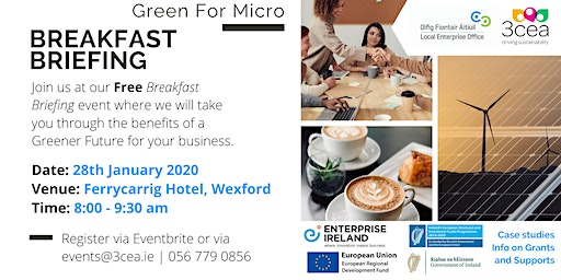Green for Micro Free Breakfast Briefing - Wexford